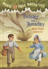 Magic Tree House #23: Twister On Tuesday (Unabridged)